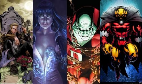John Constantine, Zatanna, Deadman and Etrigan