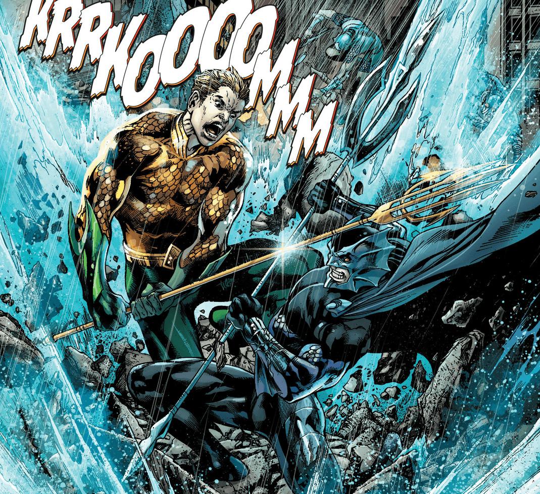 Aquaman vs. Orm