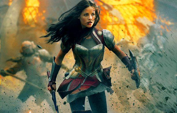 Lady Sif, the Asgardian female warrior