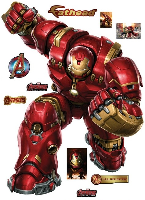 Hulkbuster wall decal by Fathead