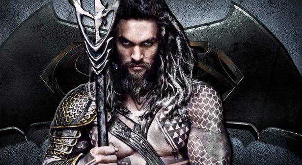 Aquaman played by Jason Momoa
