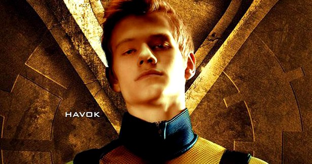 Havok played by Lucas Till