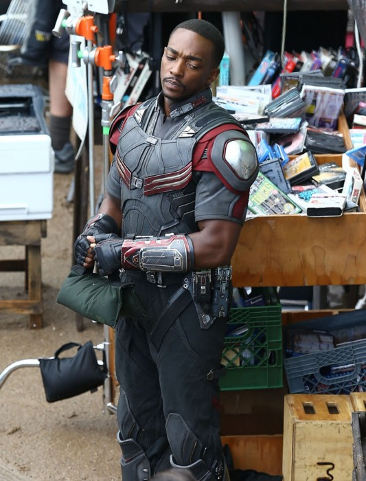 Anthony Mackie in the house