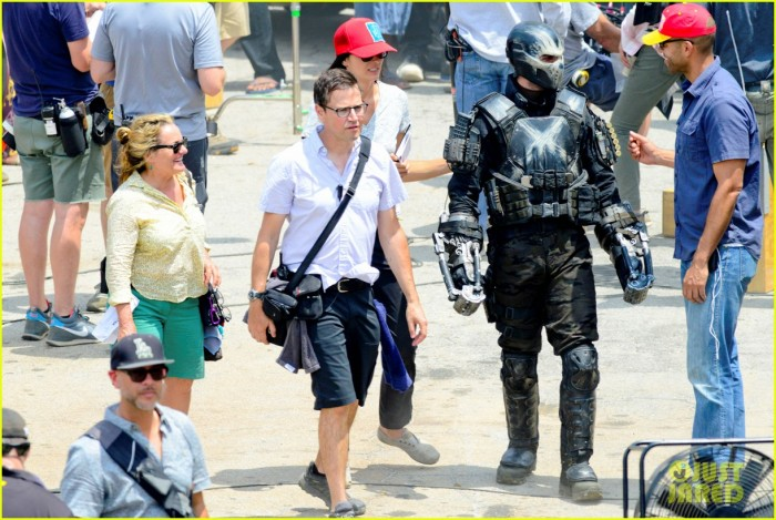First look at Crossbones on the set of Civil War