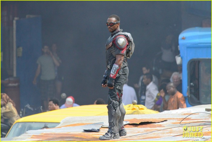 First look at Anthony Mackie as Falcon