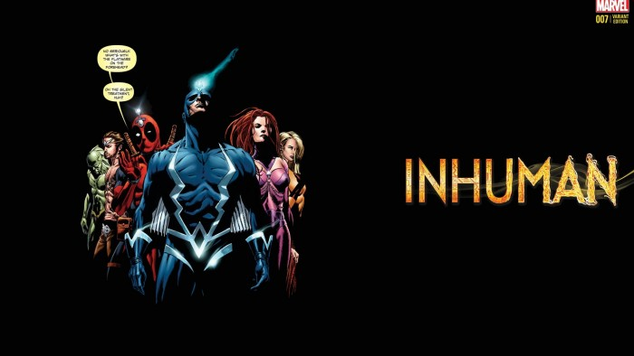 A funny Inhumans poster