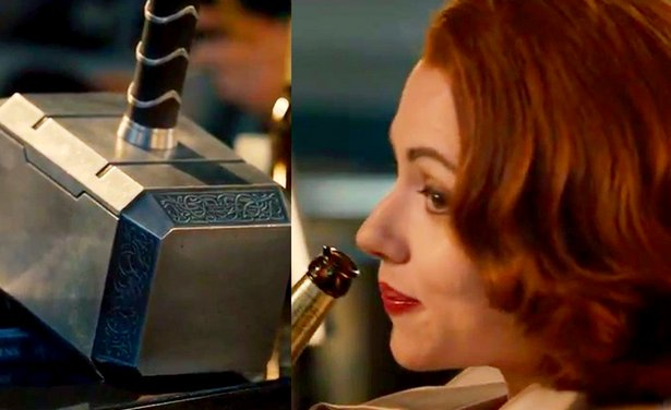 The Black Widow Refuses To Pick Up Mjolnir Why Daily