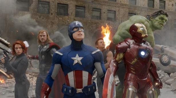 The Hulk and his fellow Avengers