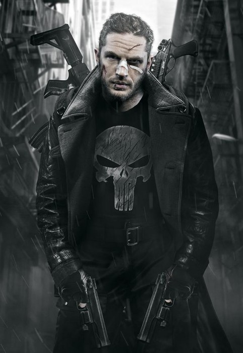 Tom Hardy as The Punisher