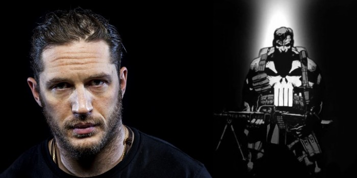 Tom Hardy wants to play The Punisher