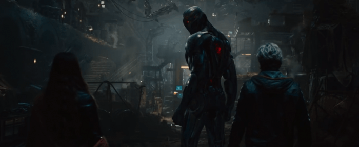 Ultron and the twins