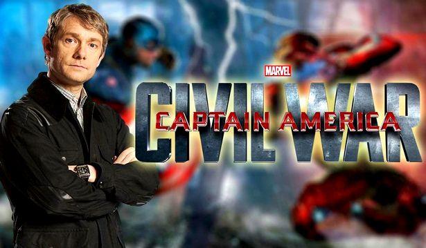 Martin Freeman in Civil War