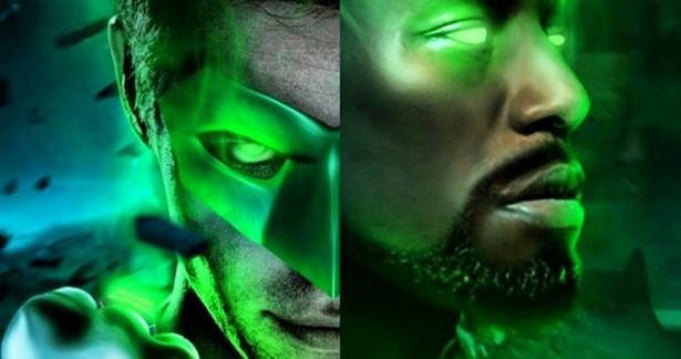 Chris Pine is Hal Jordan and Tyrese Gibson is John Stuart?