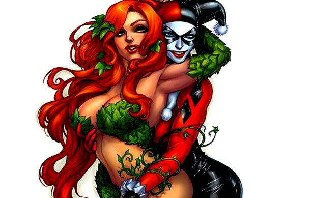 Harley Quinn and Poison Ivy - in a non-monogamous relationship