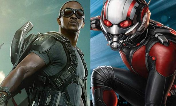 Falcon and Ant-Man. Or Falcon vs. Ant-Man?