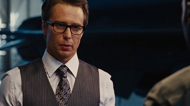 Sam Rockwell as Justin Hammer