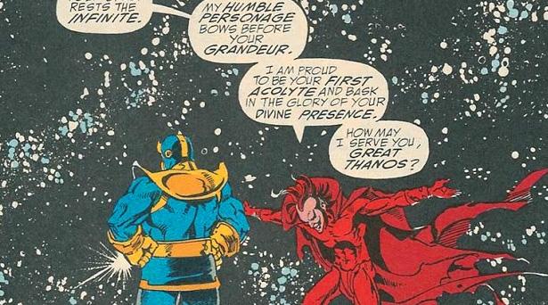 Thanos and Mephisto