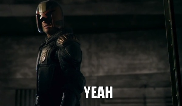 Dredd - the superhero we'd like to see again