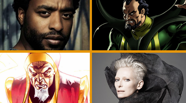 Chiwetel Ejiofor will play Baron Mordo and Tilda Swinton will play the Ancient One