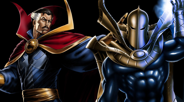 Doctor Strange and Doctor Fate
