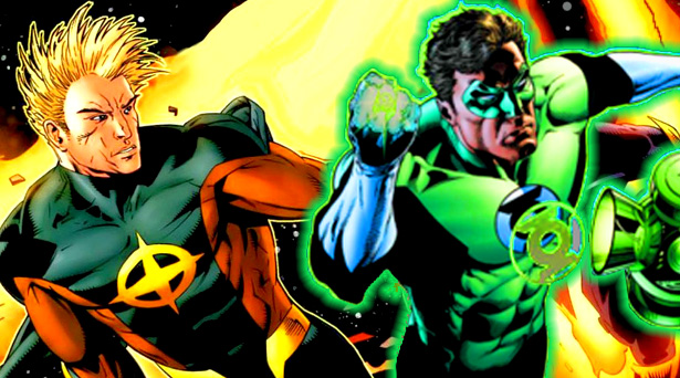 Quasar and Green Lantern