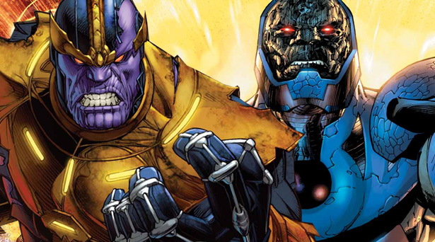 Thanos and Darkseid