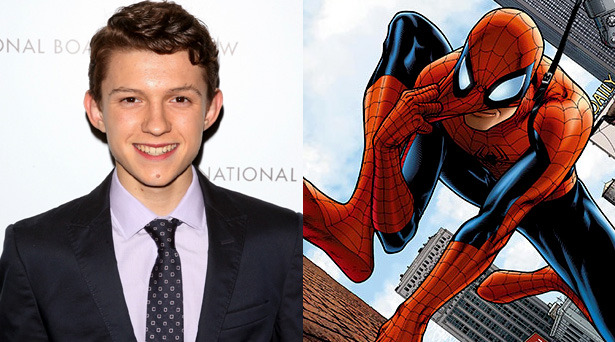 Tom Holland will play Spider-Man in the Marvel Cinematic Universe