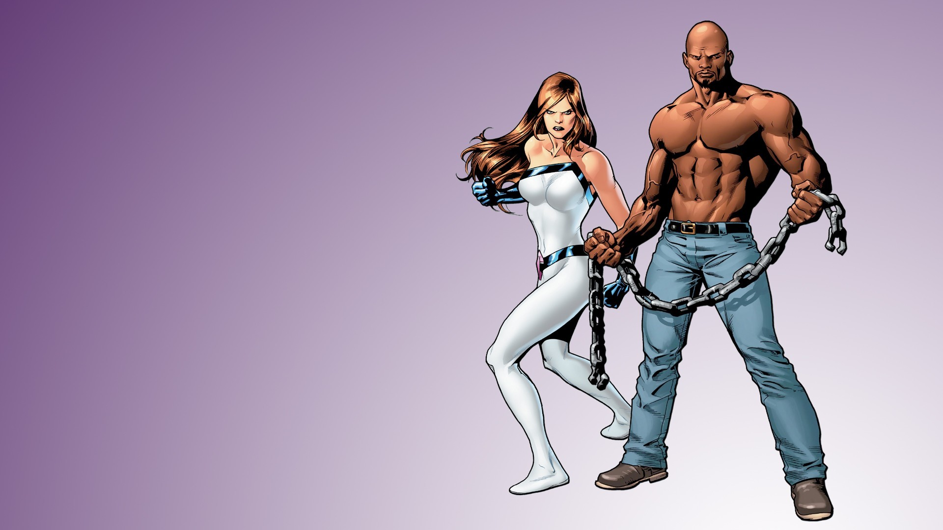With Luke Cage
