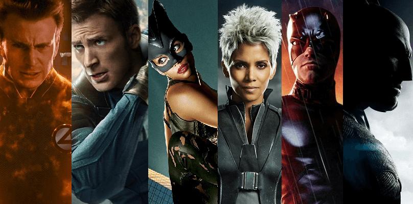 Multiple comic book roles