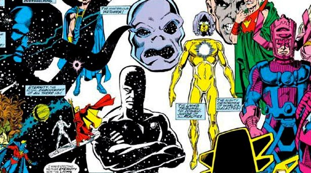 Marvel Cosmics. Source: Marvel Comics