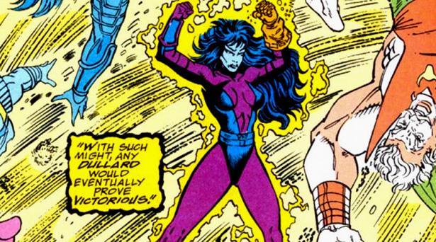Nebula with the Infinity Gauntlet