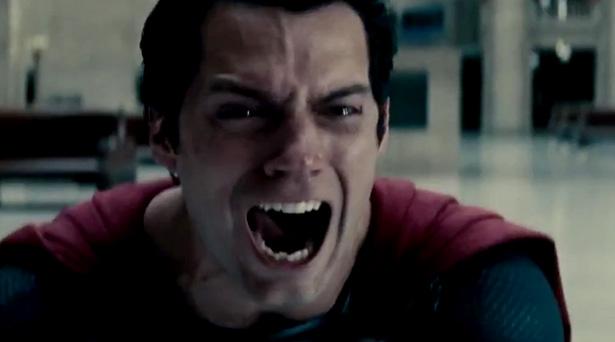 Superman in Man of Steel