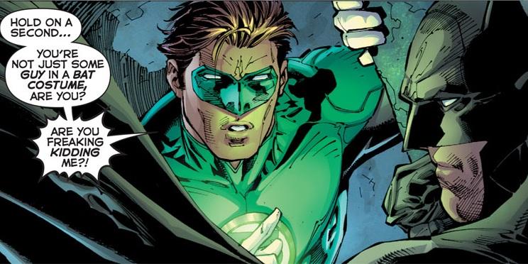 Hal Jordan and Batman