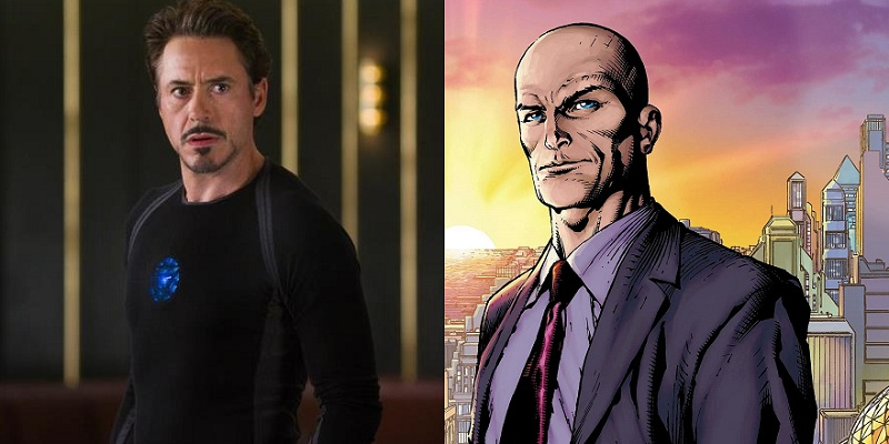 Tony Stark was almost Lex Luthor