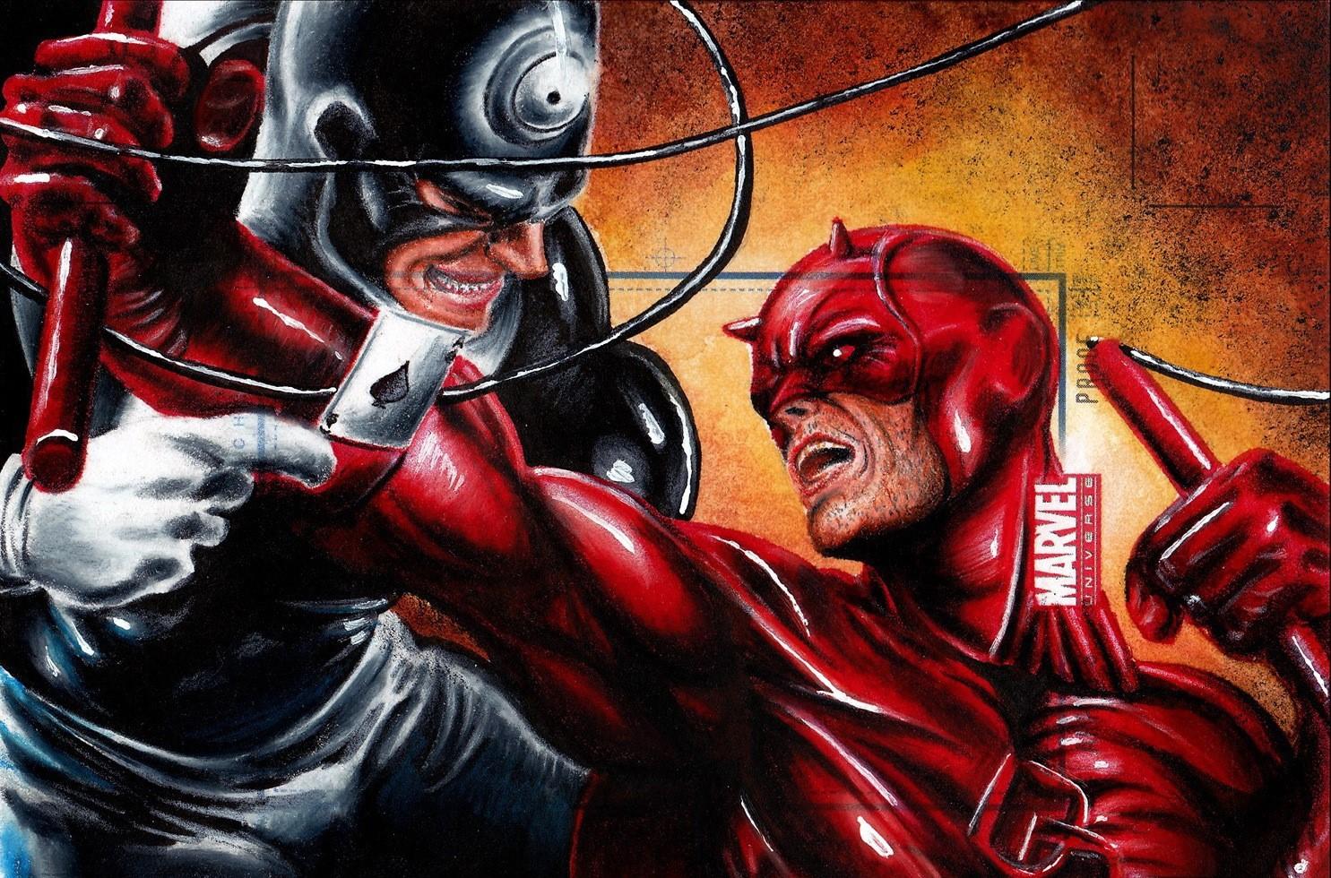 Bullseye vs. Daredevil