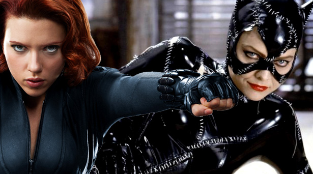 Black Widow and Catwoman