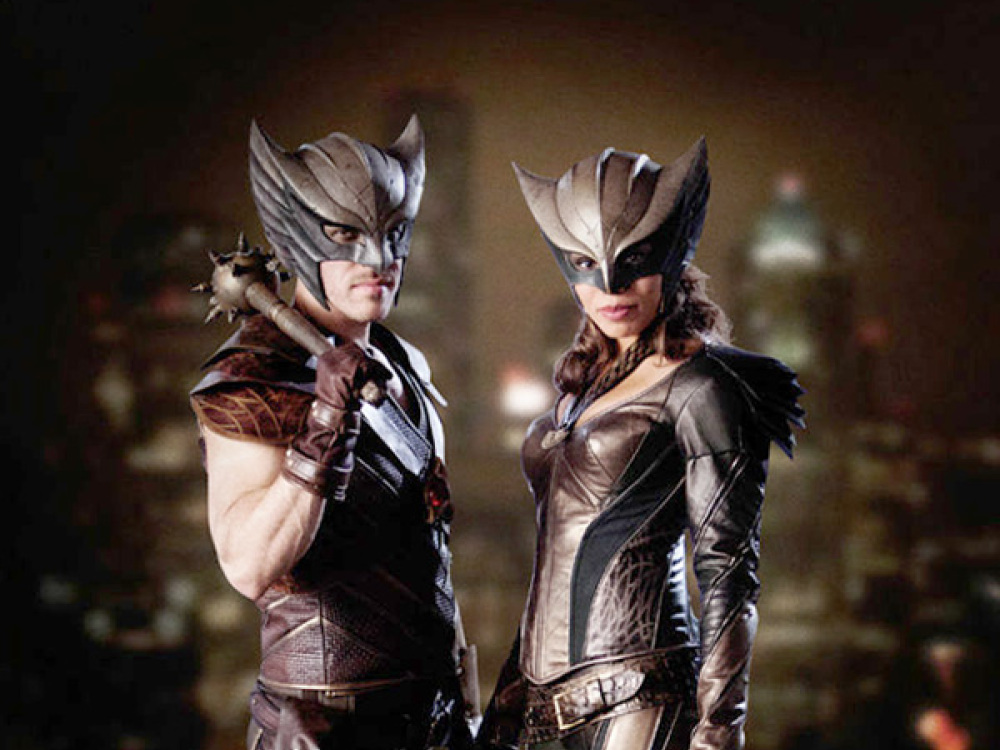 First Look At Hawkman And Hawkgirl as they will appear in Legends of Tomorrow.