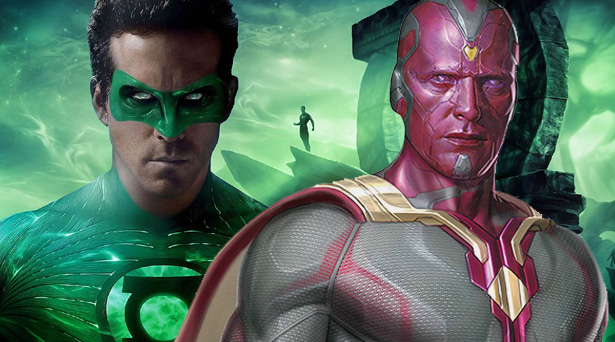 Green Lantern and Vision