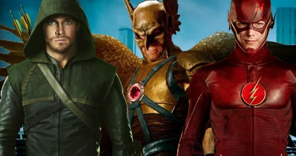Hawkman in The Arrow (with wings).