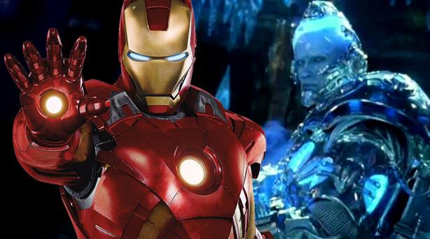Iron Man and Mr. Freeze