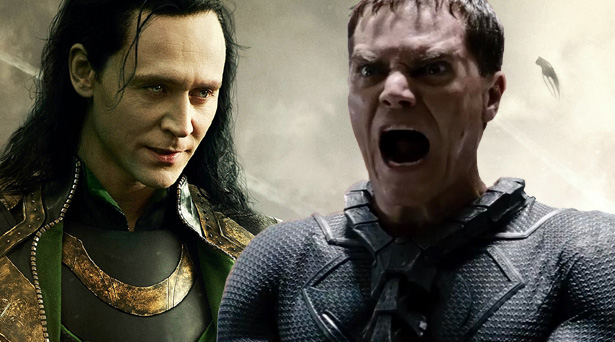 Loki and General Zod
