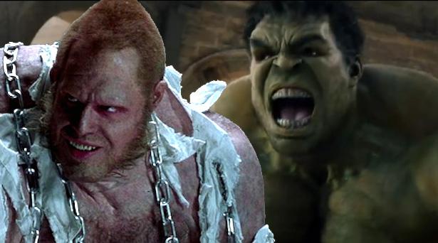 Mr. Hyde and Hulk