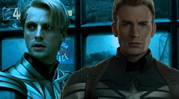 Ozymandias and Captain America