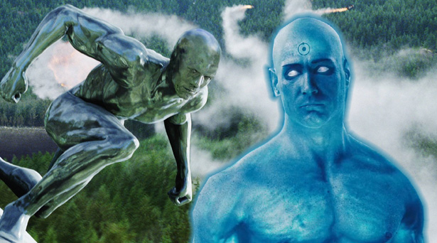 Silver Surfer and Doctor Manhattan