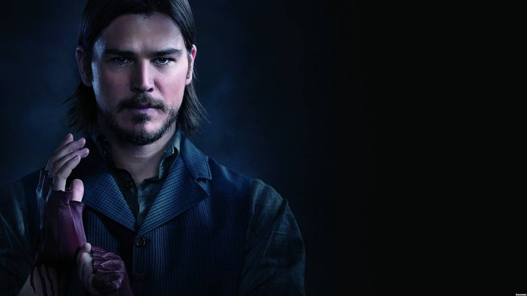 Josh Hartnett in Penny Dreadful.
