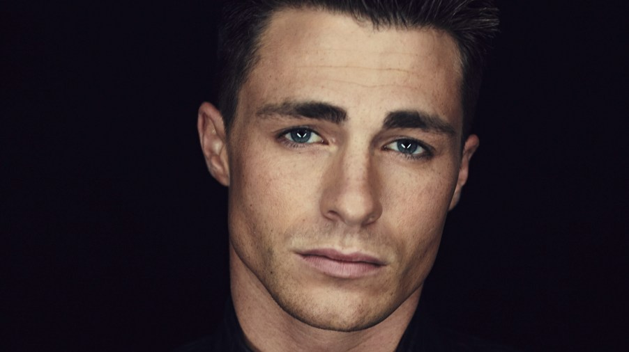 Colton Haynes, already familiar with being a sidekick.