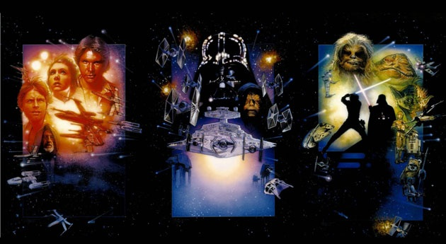 The original Star Wars trilogy