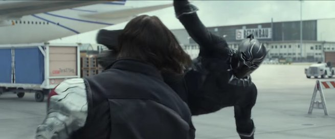 Black Panther vs. Winter Soldier