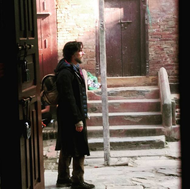 Doctor Strange Set Photo