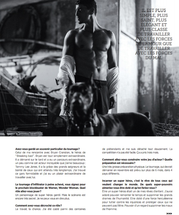 Saïd Taghmaoui's interview to the French magazine